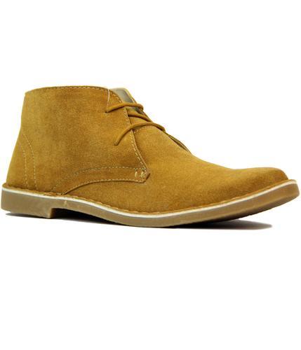 Carnaby LAMBRETTA 60s Mod Suede Desert Boots (RT)