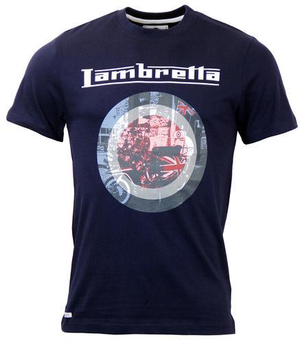LAMBRETTA RETRO MOD TARGET T-SHIRT