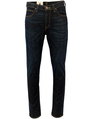 lee arvin retro mod regular tapered jeans deep sea