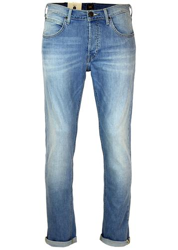 LEE DAREN RETRO 70s MOD SLIM DENIM JEANS CARIBBEAN