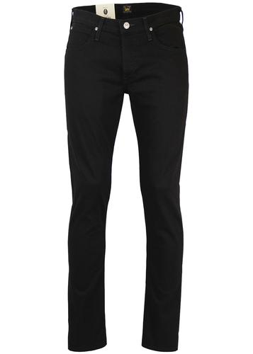LEE DAREN RETRO MOD CLEAN BLACK SLIM DENIM JEANS