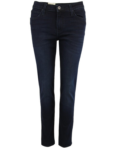 lee elly retro indie super dark slim denim jeans