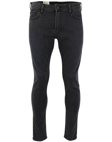lee malone retro skinny tailor black denim jeans