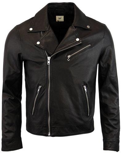lee perfecto retro 70s indie leather biker jacket