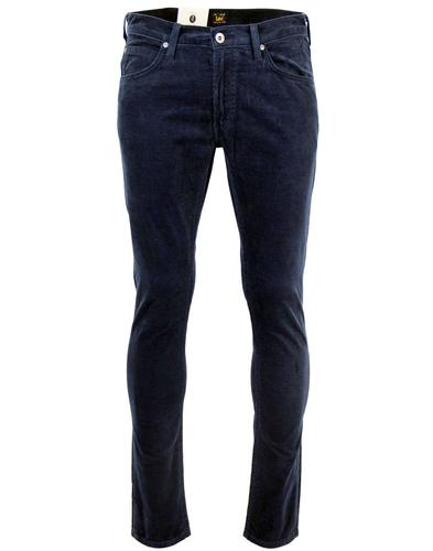 LEE JEANS MENS LUKE CORDS NAVY RETRO JEANS