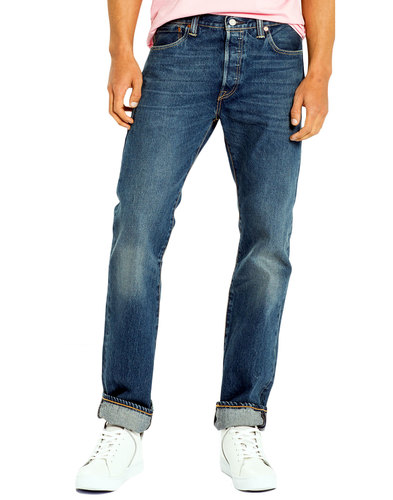 levis 501 original straight jeans cassius strong
