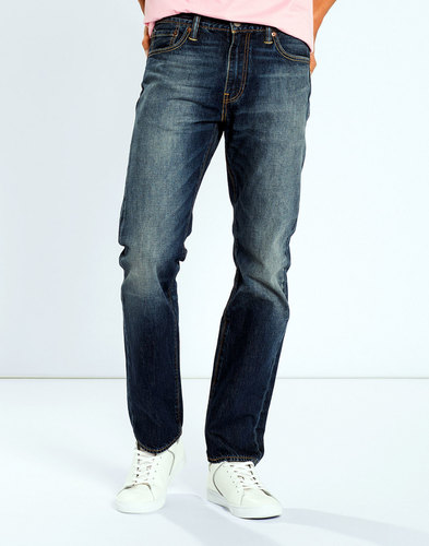 levis 504 mens retro straight leg jeans boogaloo