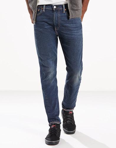 Levi's 510 Skinny Jeans retro mod Clapton Blue