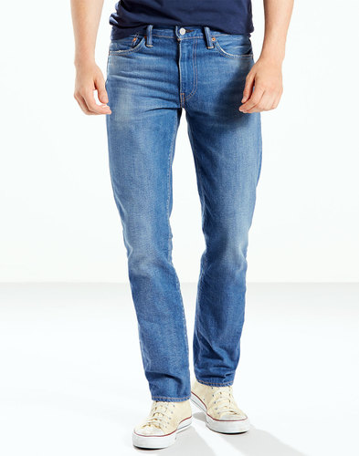 levis 511 retro mod slim denim jeans walker blue