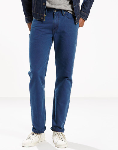 Levi's 514 Straight leg Chino Trousers Blue