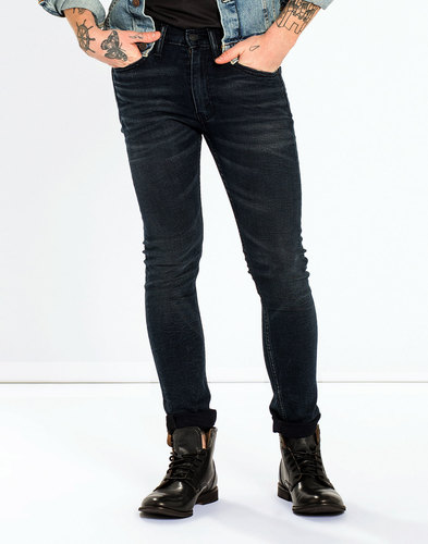 levis 519 extreme skinny fit sharkley denim jeans