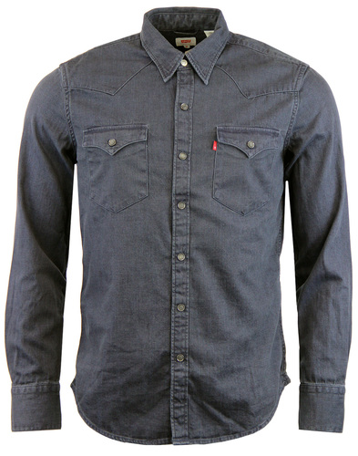 Barstow LEVI'S® Retro 70s Denim Western Shirt Ink