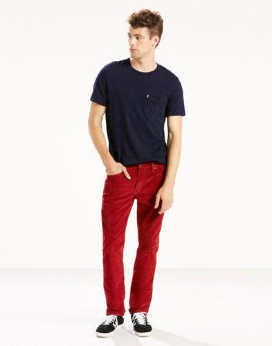 Levi's 511 Slim Cords Jeans in Red Tomato