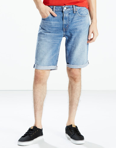 Levi's 511 Denim Shorts Jeans Bob Blue