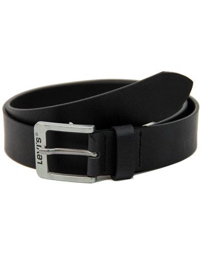 LEVI'S® Free 5117 Men's Retro Leather Belt (Black)