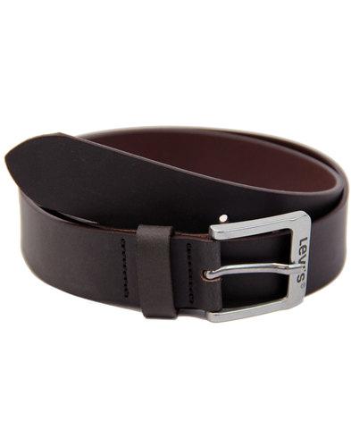 LEVI'S® Free 5117 Men's Retro Leather Belt (Brown)