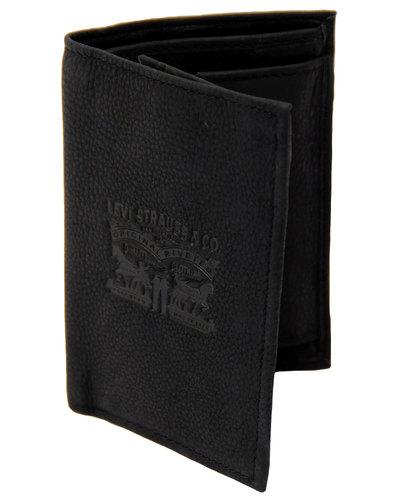 levis retro mod 4 vintage 2 horse wallet black