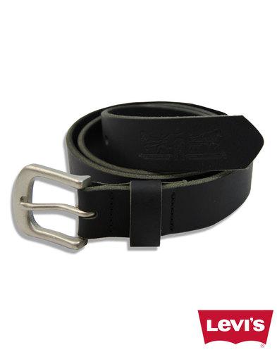 levis leather woodland black belt