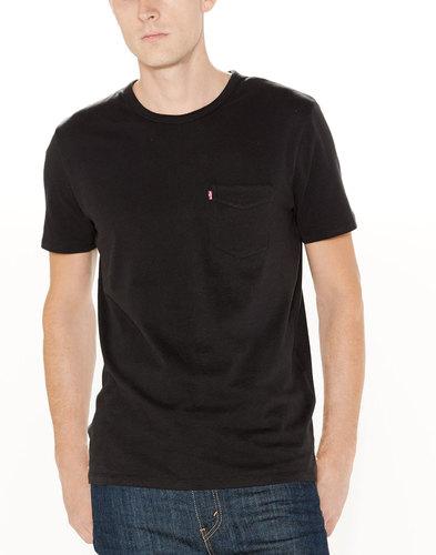 Levi's retro mod Sunset Pocket T-Shirt Black