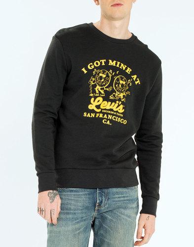 LEVI'S® Records Men's Retro 70s Graphic Sweatshirt