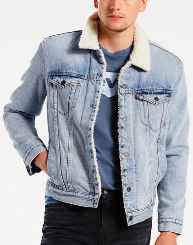 levis retro type 3 sherpa trucker jacket cusack