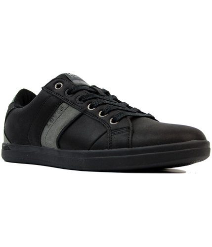 levis retro indie 70s thomas derby trainers black