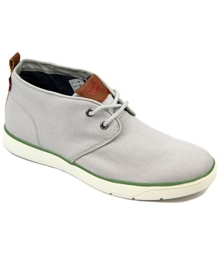 LEVI'S CANVAS MOD DESERT BOOTS GREY