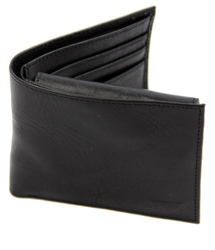 LEVI'S WALLETS RETRO CARD WALLET BLACK