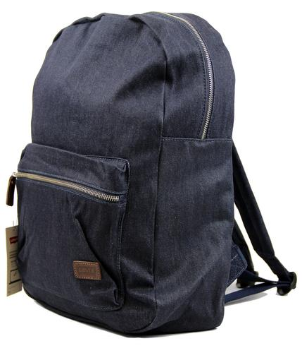 LEVIS RETRO MOD 70s DENIM BACKPACK RUCKSACK BAG