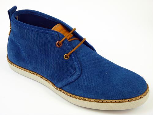 LEVIS DESERT CHUKKA BOOTS BLUE RETRO MOD BOOTS