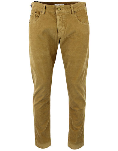 lois sierra 80s casuals needle cord trousers sand