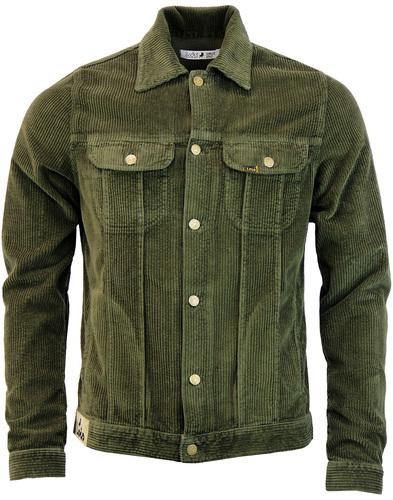 lois jeans tejana jumbo cord jacket khaki