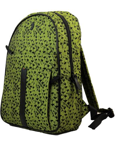 luke 1977 jenneau retro 70s jacquard camo backpack