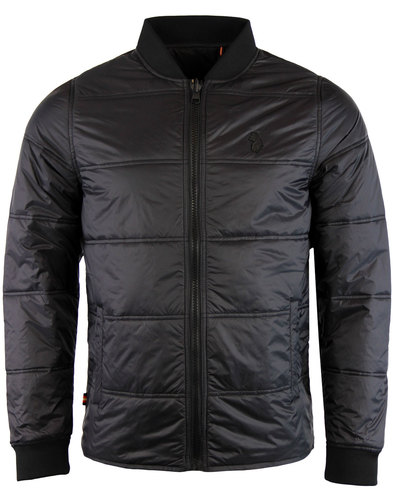 luke 1977 liner indie light quilted jacket black