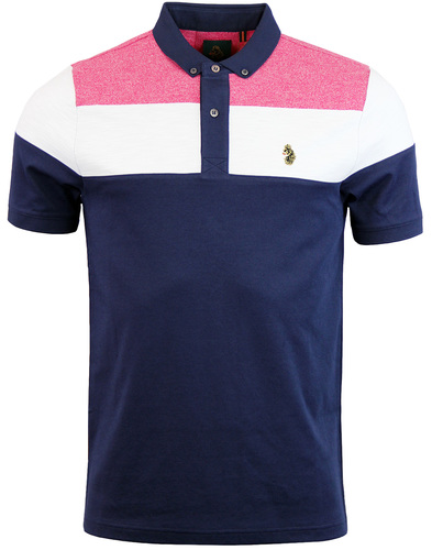 luke 1977 mickey spacer polo navy