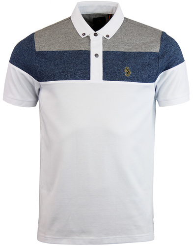 luke 1977 mickey spacer polo white