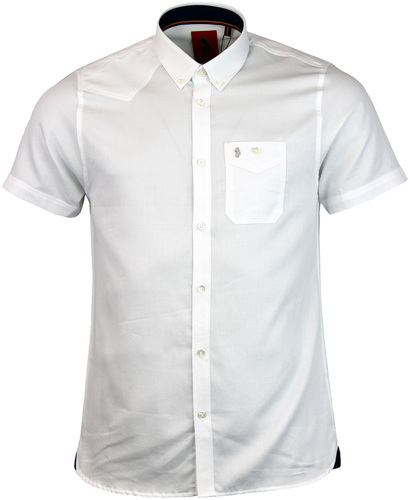luke 1977 adam keyte button down shirt white