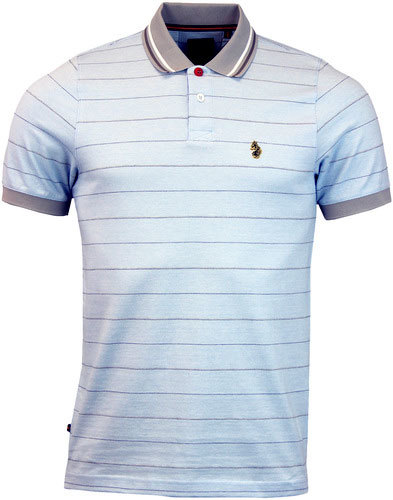 luke 1977 brahamas polo pale blue