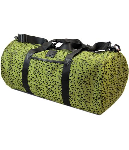 luke 1977 beneteau retro camo barrel bag holdall