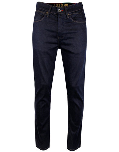 luke 1977 freddie retro slim straight jeans raw