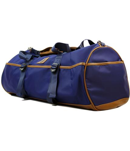 luke 1977 rafferty retro mod barrel bag holdall