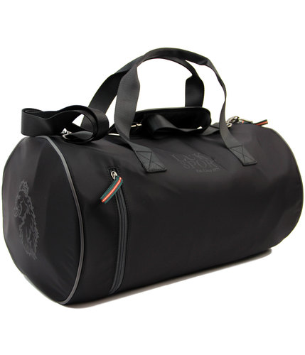 luke sport skelton retro gym holdall barrel bag