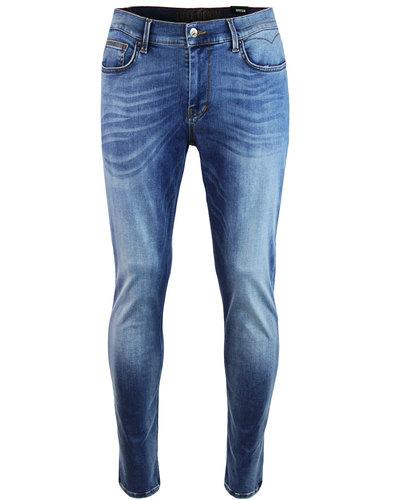 luke super skinny jeans light blue