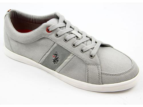 LUKE 1977 RETRO INDIE DEWEY TRAINERS GREY