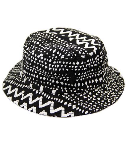 Manis Man LUKE 1977 Retro 90s Indie Bucket Hat (B)