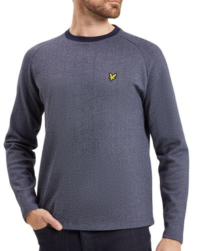 LYLE & SCOTT Mens Ponte De Roma Mouline Sweatshirt