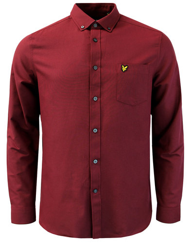 LYLE & SCOTT 60s Mod Button Down Oxford Shirt (C)