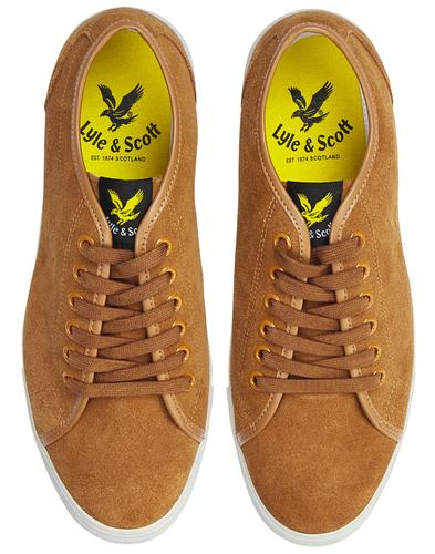 Teviot Suede LYLE & SCOTT Retro Tennis Trainers T