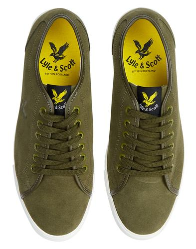 Teviot Suede LYLE & SCOTT Retro Tennis Trainers O