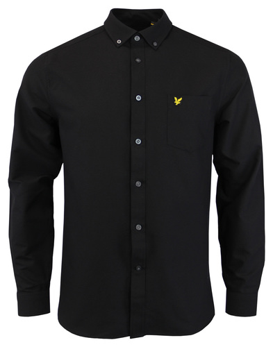 LYLE & SCOTT 60s Mod Button Down Oxford Shirt (B)